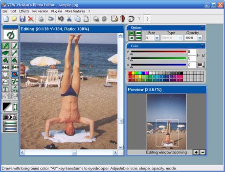 cherche logiciel de photo gratuit